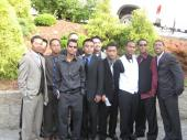 aec guys @ manny & sue's wedding